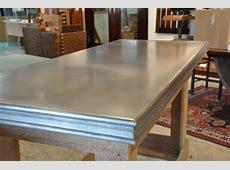 Zinc Bar Tops Brooks Custom Zinc Products