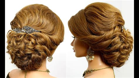 Prom Updo, Bridal Hairstyle For Long Hair Tutorial Youtube