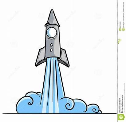 Rocket Blast Clipart Launch Start Cosmos Blastoff