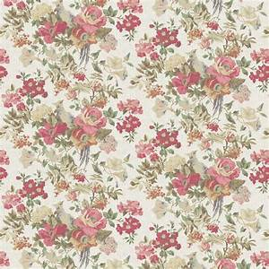 vintage flower patterns | LF1337 / 1 Silver Pheasant ...