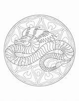 Coloring Waffle Pages Mandala Dragon Mandalas Adults Waffles Printable Getdrawings Justcolor Getcolorings sketch template