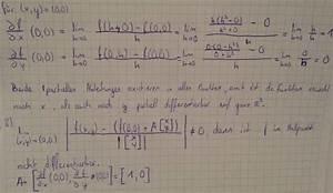 Partielle Ableitung Berechnen : analysis partielle ableitung im nullpunkt mathelounge ~ Themetempest.com Abrechnung