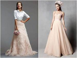 say no to the dress go with a skirt and top instead With what to wear instead of a wedding dress