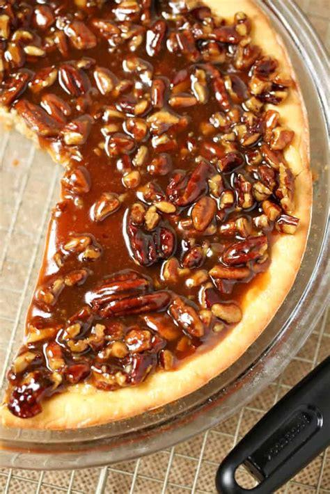 easy pecan cheesecake pie simple sweet recipes