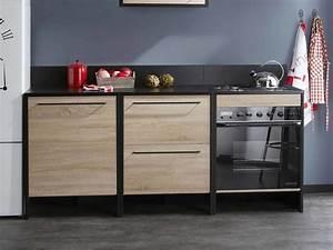 meuble pour plaque de cuisson et four encastrable maison With meuble a four encastrable