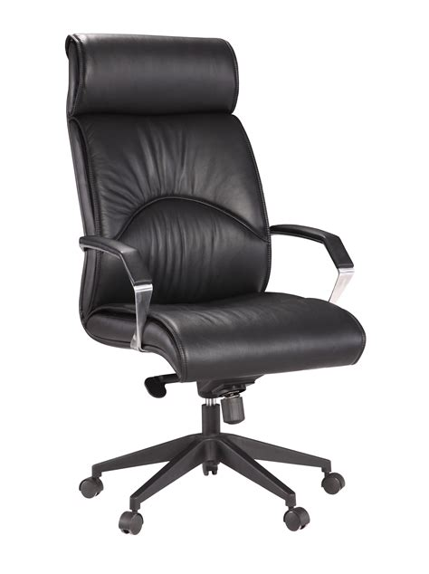 leather executive high back chair with 350 lbs weight capacity