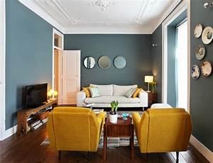couleur mur pour petit salon palzoncom With nuancier couleur peinture murale 17 80 idees dinterieur pour associer la couleur prune