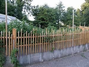 Welches Holz Für Gartenzaun : gartenz une holz eiblmeier ~ Lizthompson.info Haus und Dekorationen