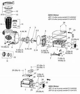 Jandy Stealth Pump Parts Diagram