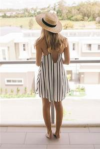 21 Outfit Ideas With Straw Hats For Summer - Styleoholic