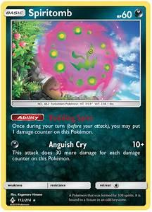 Spiritomb - Unbroken Bonds #112 Pokemon Card