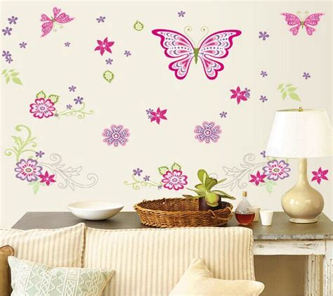 "150x77 (59""x30"") Df5101 Butterfly Wall Stickers For Kids"