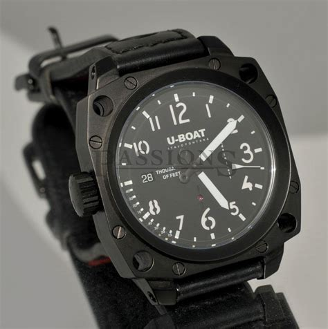 U Boat Watch Repair by U Boat 43mm Quot Thousands Of Feet Quot Auto Date Left Hander In