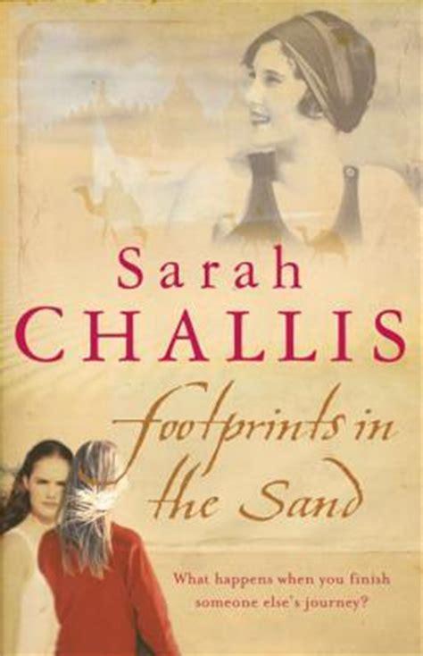 footprints   sand  sarah challis reviews discussion bookclubs lists