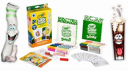 Scents Crayola Stinky Sweet Silly Markers Crayons