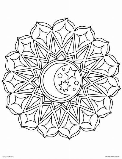 Coloring Pages Mandala Printable