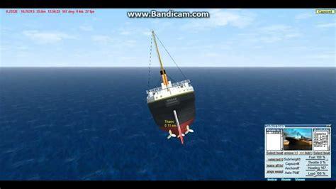 virtual sailor titanic sinking youtube