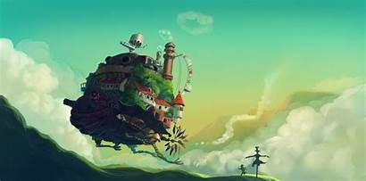 Moving Castle Howl 4k Desktop Wallpapers Backgrounds