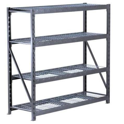 gladiator welded steel garage shelving unit 1000 ideas about garage shelving units on diy