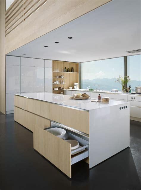 cuisine moderne bois clair ophrey com cuisine blanche bois clair prélèvement d