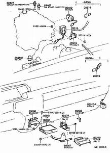 Toyota Camry Relay Assembly  Circuit Opening  For Efi