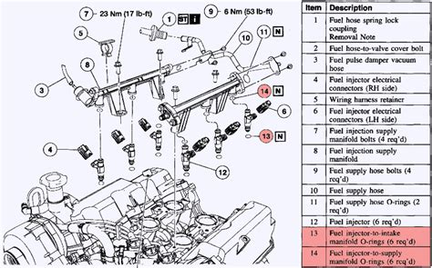 Ford Explorer 4 0 Engine Diagram by Fuel Injector Installation 2003 4 0 Need Answers Ford
