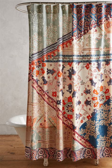 glitter shower curtain anthropologie home design and