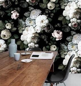 Papier Peint Fleuri : 9 papiers peints tendance en 2016 ~ Premium-room.com Idées de Décoration