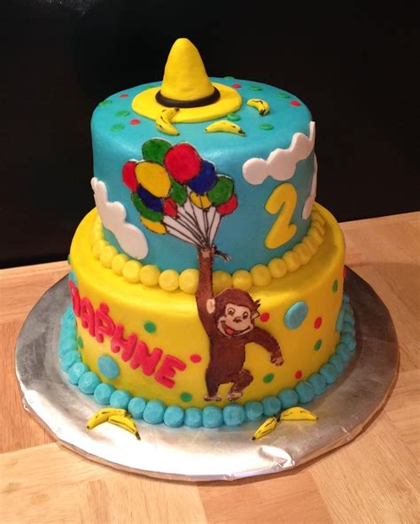 curious george cake manintheyellowhat curiousgeorge