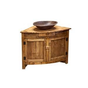 buy rustic corner vanity online perfect for small bathroom