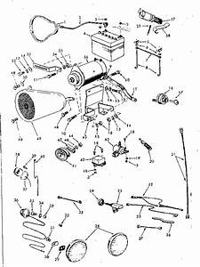 Craftsman Model 91725381 Lawn  Tractor Genuine Parts