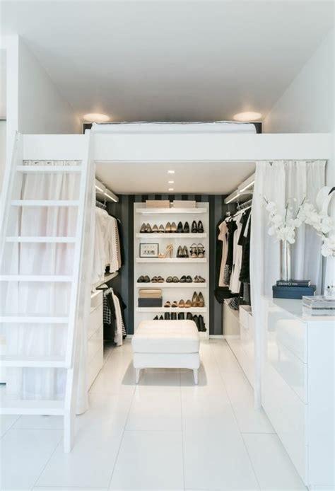 bett mit kleiderschrank 1001 ideen f 252 r offener kleiderschrank tolle wohnideen