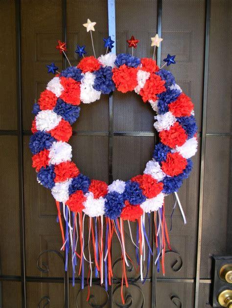 4th of july wreath festive july 4th diy wreaths easy simple inspired