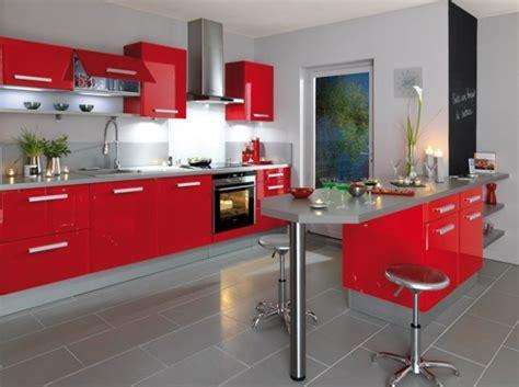 cuisine deco design salon bordeau et beige