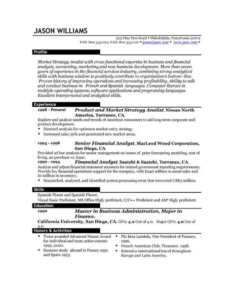 Exles Of The Best Resumes best resume template resume 85 free sle resumes