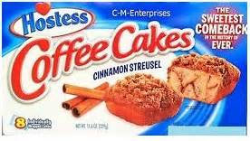 Or enjoy the cinnamon goodness with whatever you please. Hostess Cinnamon Streusel Coffee Cakes (2 Boxes)
