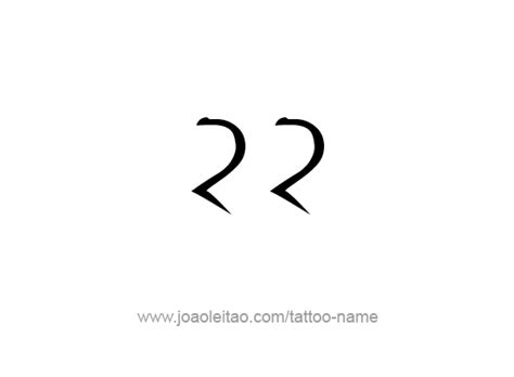 twenty   number tattoo designs tattoos  names
