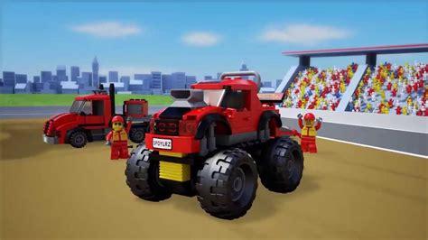 youtube monster truck city 60027 monster truck transporter 3d