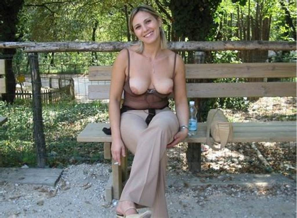 #Smoking #Milf'S #Boobs #At #The #Zoo