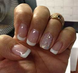 design nã gel pin manicure designs with white on