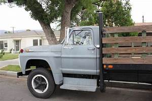 1968 Ford F600 Truck Flat Bed    Stake Bed For Sale In