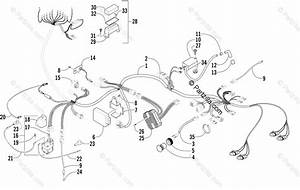 Arctic Cat Atv 2003 Oem Parts Diagram For Wiring Harness