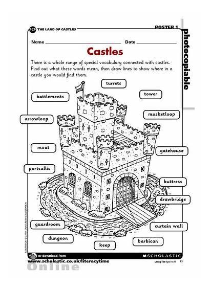 Castle Worksheet Medieval Castles Activity Worksheets History