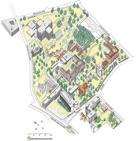 Botanischer Garten Köln Lageplan by Lageplan Au 223 Enkliniken Biologie Botanischer Garten