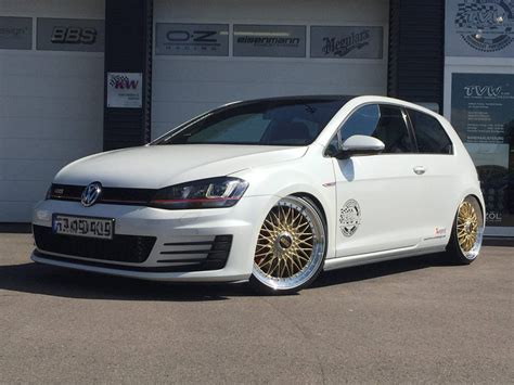 golf 7 tuning akrapovic vw golf 7 gti bbs rs tuning tvw 8 golf
