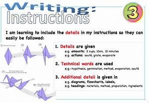 Springston Waka Endeavour  How To Write Instructions