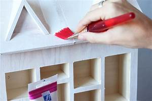 Calendrier De L Avent Maison : diy calendrier de l 39 avent maison en bois etape 3 sp4nk blog ~ Preciouscoupons.com Idées de Décoration