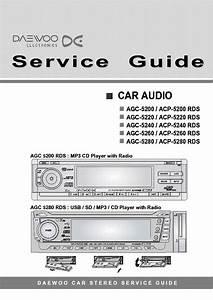 Daewoo Agc5200 Service Manual Download  Schematics  Eeprom