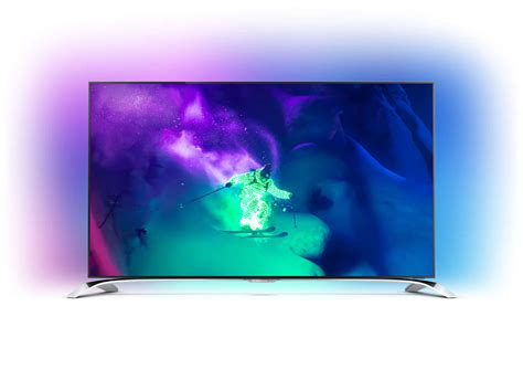 le de bureau philips téléviseur 4k uhd ultra plat avec android 65pus9109 12