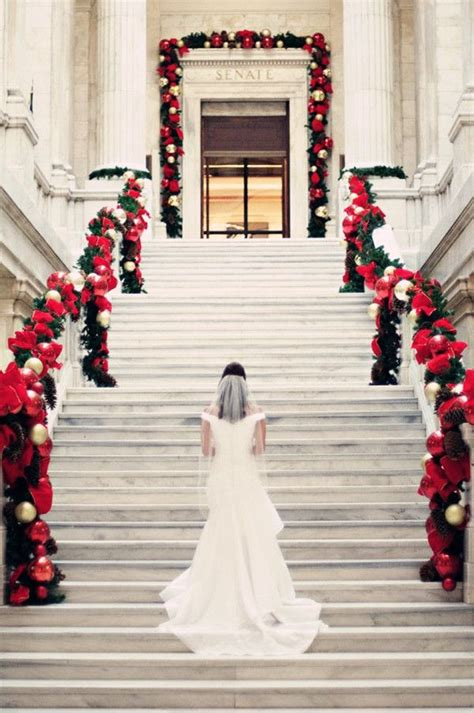 Top 25 Christmas Wedding Ideas Of The Year 2015